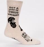 blue Q Blue Q Men's Socks/ Whiskers