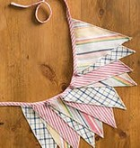 April Cornell Garland/ Aunt Gertie's Patchwork Pennant