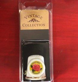 Dutch American Import Co. Thimble Boxed / Ceramic Santa Rosa