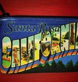Jim Spinx Zipper Coin Purse / Santa Rosa