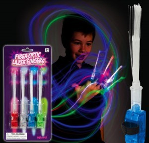 Toysmith/ Spin Master Fiber Optic Lazer Fingers