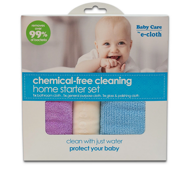 E-Cloth Chemical-free Cleaning/ Home Starter Set