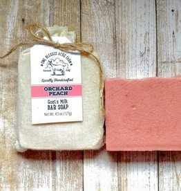 CJ Idea Factory/ One Blessed Acre Farm Bar Soap / Orchard Peach