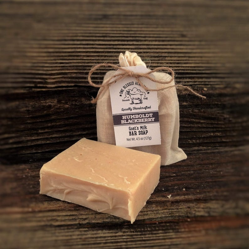 CJ Idea Factory/ One Blessed Acre Farm Bar Soap / Humboldt Blackberry