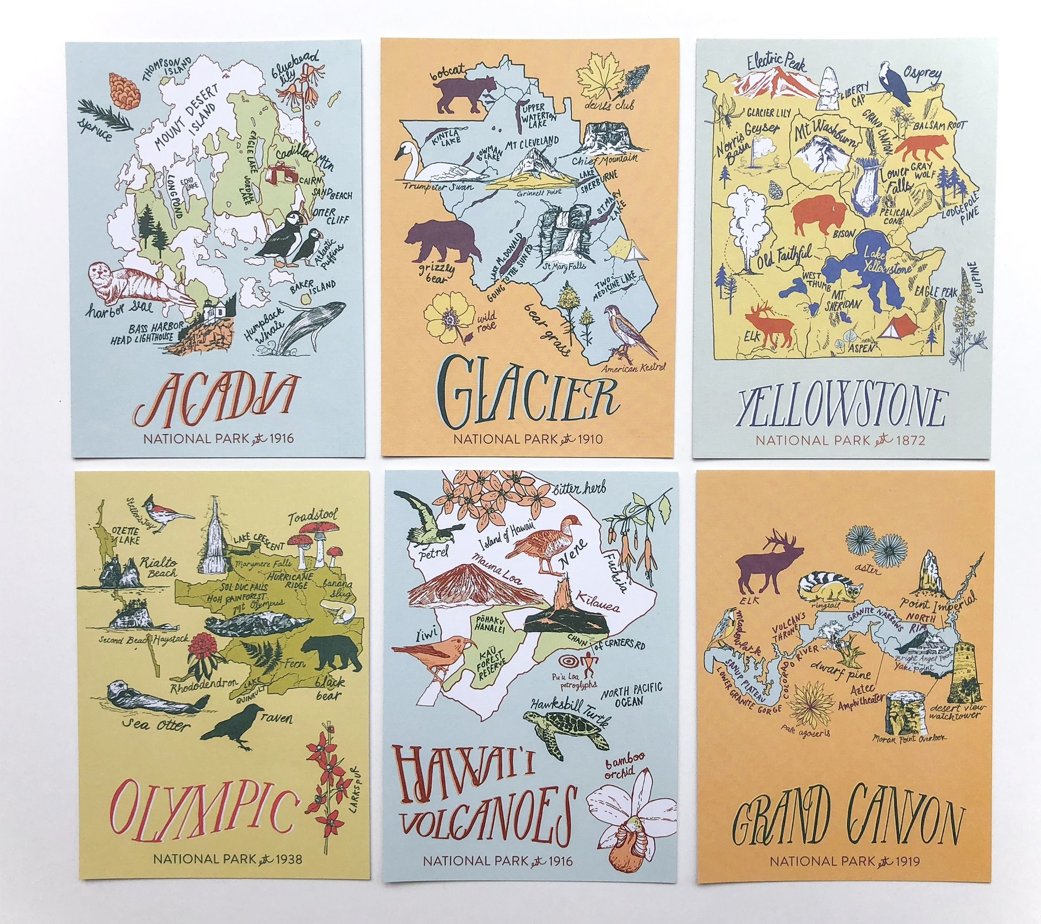 Penguin Random House Postcard Set/ Greetings From...
