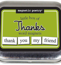 Magnetic Poetry Magnetic Poetry/ Little Box Of Thanks