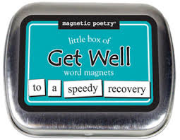 Magnetic Poetry Magnetic Poetry/ Little Box Of Get Well