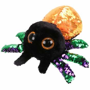 Ty Inc Beanie Boos Flippables/ Glint Spider