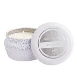 Curio/ Capri Blue Candle Mini Tin / Volcano White