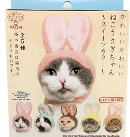 Clever Idiots Inc. Kitan Club: Cat Cap Blind Box/ Rabbit