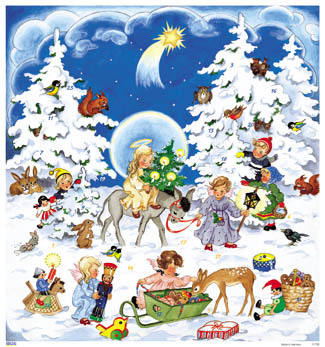 Vermont Christmas Company Advent Calendar/ Joyful Night