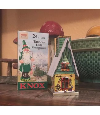 Alexander Taron Inc. Tin Incense House with Incense