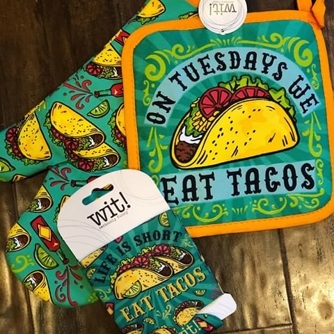 Stephen Joseph/Karma/Wit Recycled Carry All Bag / Taco
