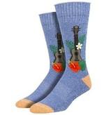 Socksmith Socksmith Mens/ Ukulele in Paradise Medium Blue