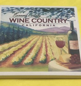 Lantern Press Coaster/ Sonoma County Wine Country