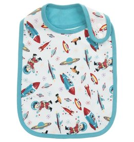 Powell Craft Bib/ Rocket & Space