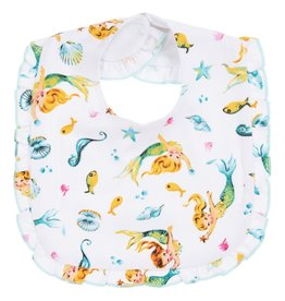 Powell Craft Bib/ Mermaid with Frill Edge