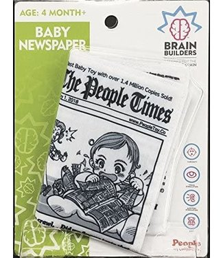 People Toy Co. Baby Newspaper