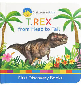 Cottage Door Press Book/ T Rex From Head To Tail