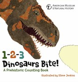 Sterling Publishing Co. Book/ 1-2-3 Dinosaurs Bite