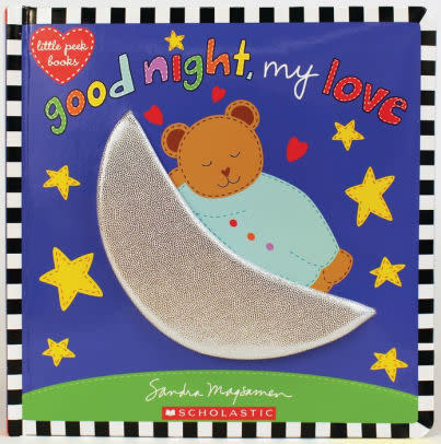 Scholastic Book/ Good Night, My Love