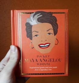 Hachette Book Group Book/ Pocket Maya Angelou Wisdom
