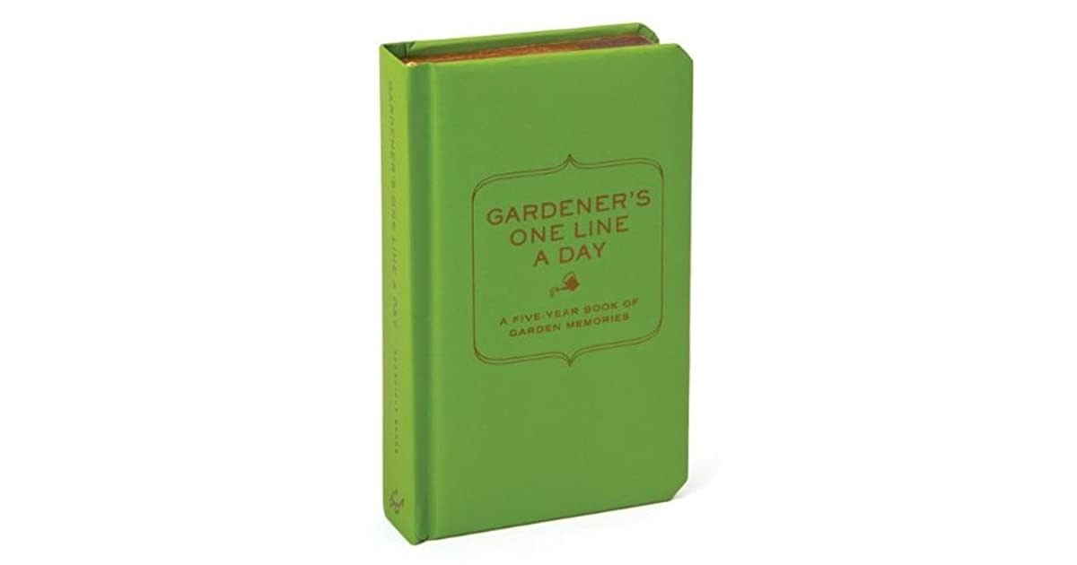 Hachette Book Group Book/ Gardener's One Line A Day