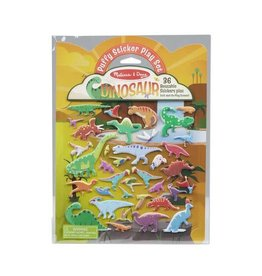 Melissa & Doug Puffy Sticker Play Set/ Dino