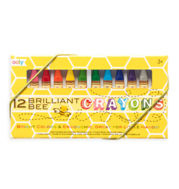 Ooly / International Arrivals Crayons/ Brilliant Bee Set Of 12