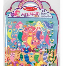 Melissa & Doug Puffy Sticker Play Set/ Mermaid