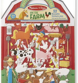 Melissa & Doug Puffy Sticker Play Set/ Farm