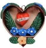 Tesoros Trading Co. Small Heart Retablo