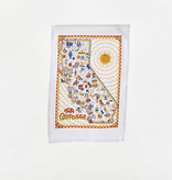 One Hundred 80 Degrees Dish Towel/ California