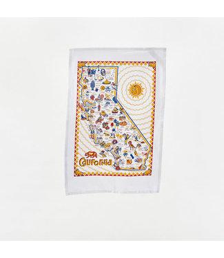One Hundred 80 Degrees Dish Towel/ California