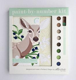 Elle Cree Paint by Number / Deer with Huckleberries
