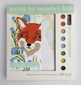 Elle Cree Paint by Number / Fox with Chicory
