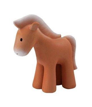 Tikiri Toys Natural Rubber Rattle / Horse