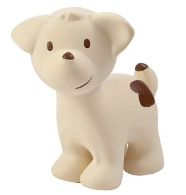 Tikiri Toys Natural Rubber Rattle / Puppy