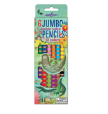 eeBoo Pencils/ Otters At Play 6 Jumbo Double
