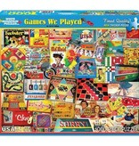 White Mountain Puzzles Puzzle/ Games We Played 1000 Pc.