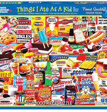 White Mountain Puzzles Puzzle/ Things I Ate as a Kid 1000 Pc.