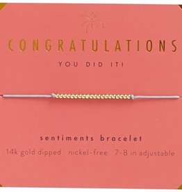 Lucky Feather Bracelet/ Congratulations