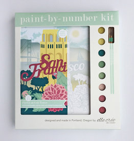 Elle Cree Paint by Number / Parrot at Coit Tower
