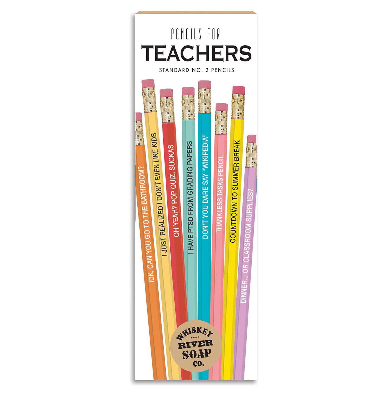 Whiskey River Soap Co. Pencil Set/ Teachers