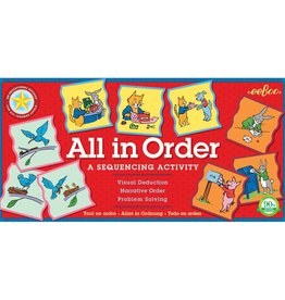 eeBoo Game/ All in Order Sequencing Activity