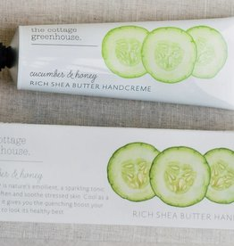 Margot Elena / Burwell Cottage Greenhouse Handcreme/ Cucumber & Honey