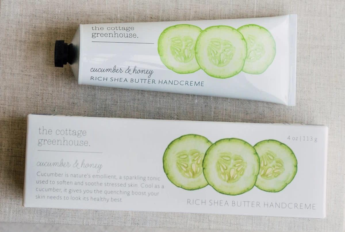 Burwell Industries Cottage Greenhouse Handcreme/ Cucumber & Honey