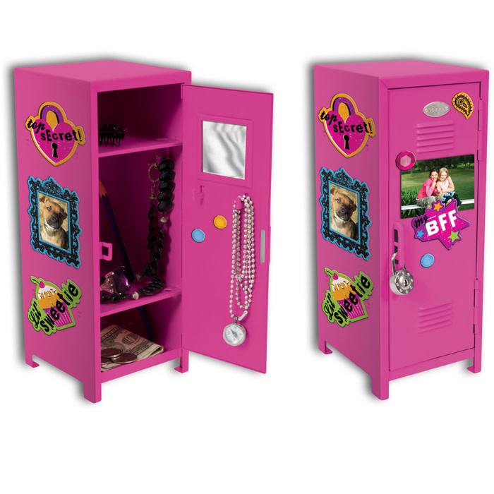 Schylling Girl Talk Locker w/Magnets