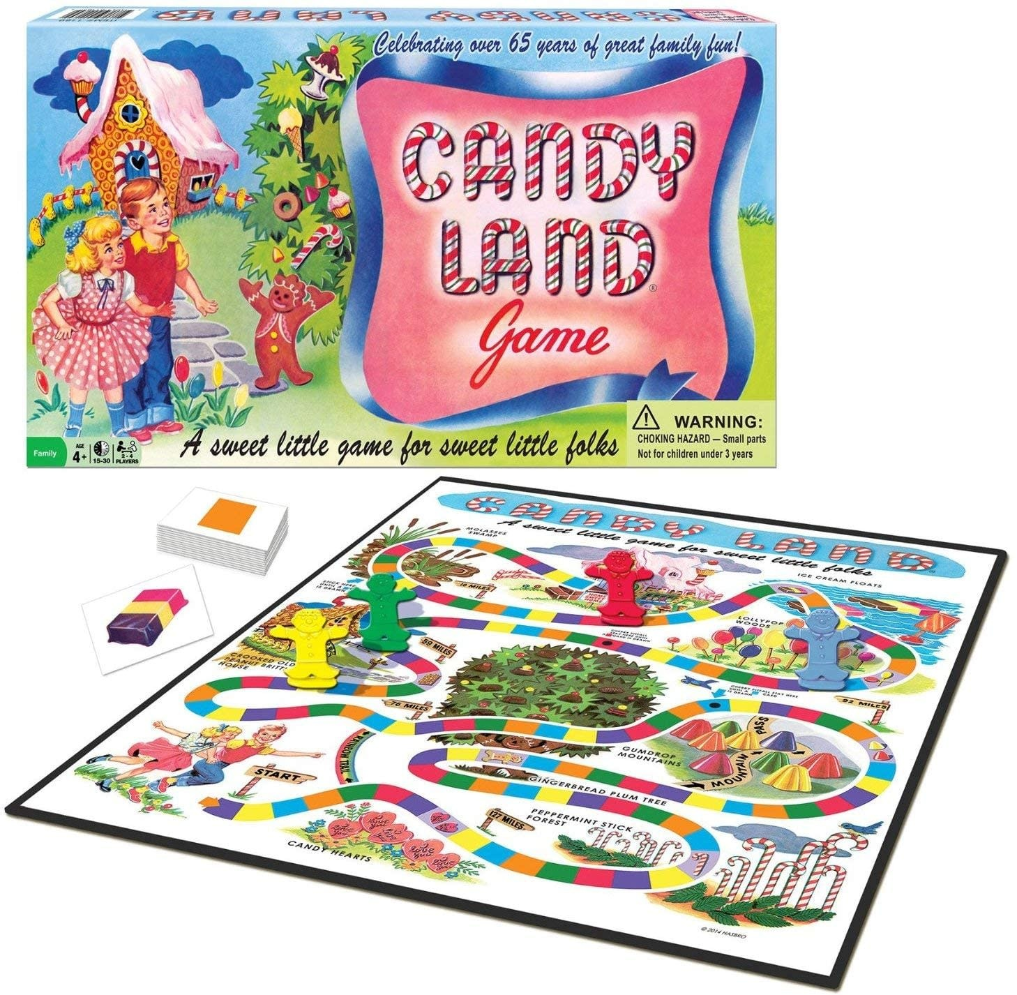 Winning Moves Game/ Candy Land 65th Anniversary