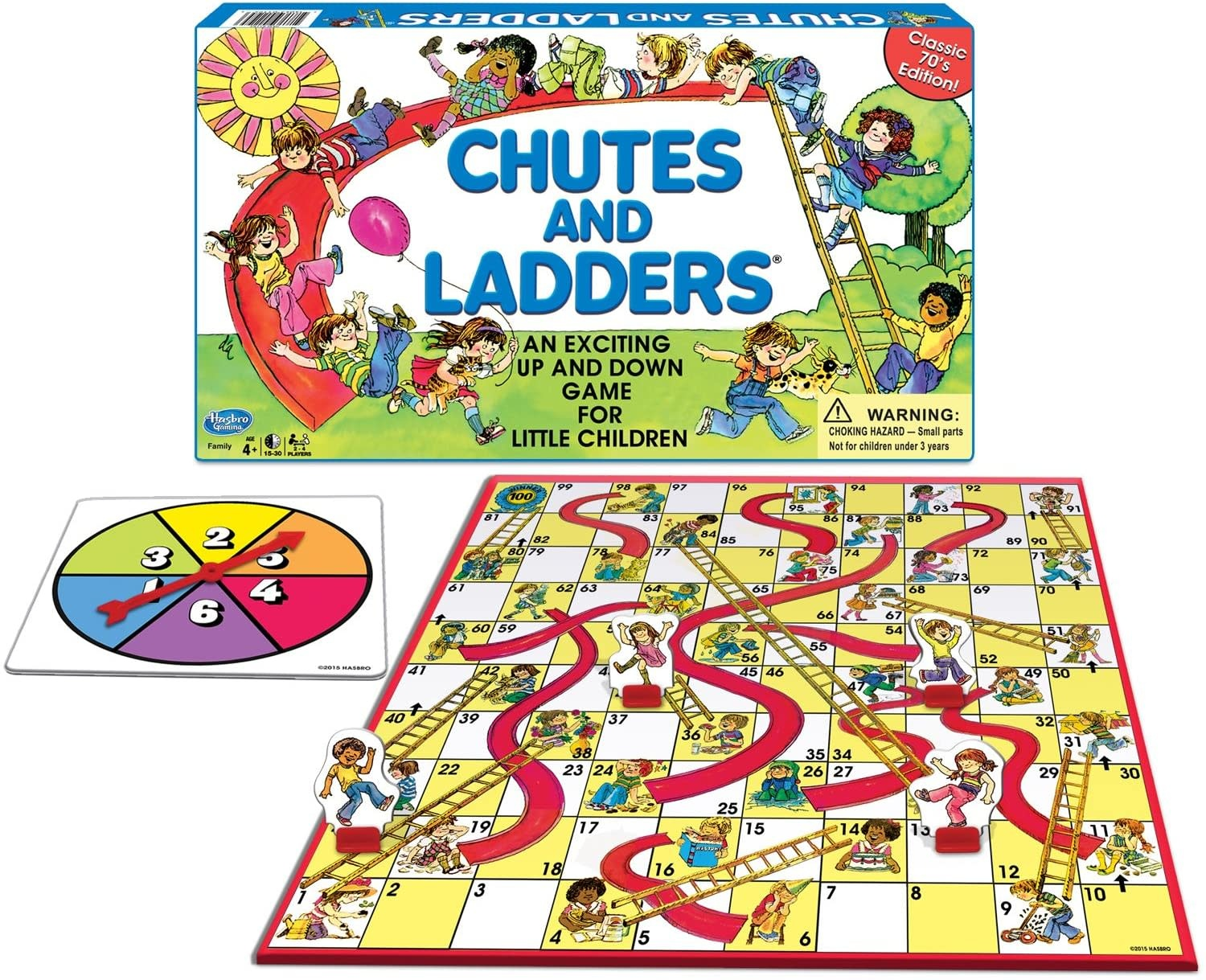 Winning Moves Game/ Classic Chutes and Ladders